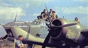 Warbird Picture - Work takes place on a Blenheim Mk IV