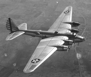 Warbird Picture - XB-15 on a test flight