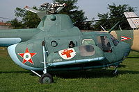 Airplane Picture - Mi-1M with side capsules for the injured