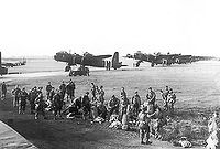 Airplane Picture - Mk.IV Stirlings of 620 Squadron, RAF during Operation Market Garden in September 1944