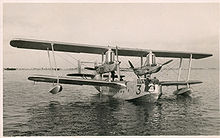 Airplane Picture - Short Singapore III flying boat of 230 Squadron at Alexandria, mid 1930s.