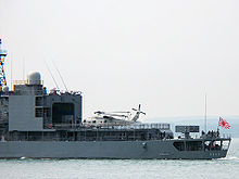 Airplane Picture - A JMSDF SH-60 parked on the deck of an Asagiri class destroyer DD.158 Umigiri departing from Portsmouth Naval Base, UK, on 28 July 2008.