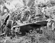 Airplane Picture - The Flying Heritage Collection Ki-43 at Rabaul, 1945.