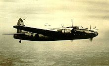 Airplane Picture - Ki-49 in flight over Japan, 1945