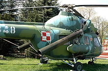Airplane Picture - Mi-2Ch exhibited in Polish Aviation Museum