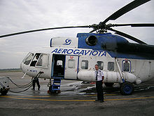 Airplane Picture - Aerogaviota Mi-8PS