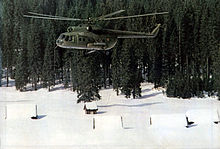 Airplane Picture - Mi-8T helicopter of YuAF.