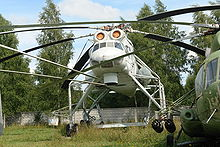 Airplane Picture - Mil Mi-10 at Monino Central Air Force Museum (Moscow)