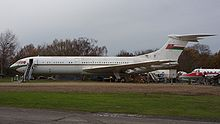 Airplane Picture - Former Oman Royal Flight VC10 on display at the Brooklands Museum