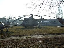 Airplane Picture - Ex-Polish Air Force Mi-6 exhibited at Lublinek airfield near Łx�dź