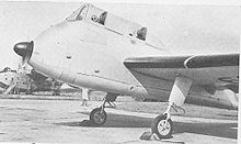 Airplane Picture - Prototype XA209, without radome