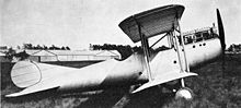 Airplane Picture - The Silver Streak at Farnborough in February 1921