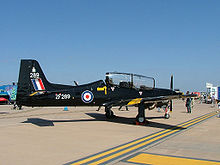 Airplane Picture - Short Tucano T1 at RIAT 2005.