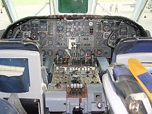 Airplane Picture - VC10 1151 flight deck
