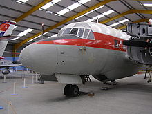 Airplane Picture - Varsity T1 on display at the Newark Air Museum