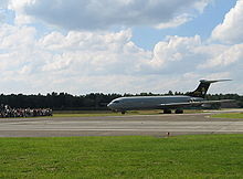 Airplane Picture - Vickers VC10 at the Belgian Air Force base of Kleine Brogel