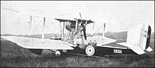 Airplane Picture - Vickers Vanellus