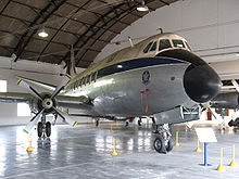 Airplane Picture - Brazilian Air Force Viscount used by Brazilian authorities on display at Brazilian Air Force Museum, in Rio de Janeiro