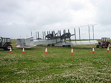 Airplane Picture - Vickers Vimy replica NX71MY, 2005