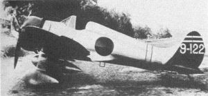 Warbird Picture - An A5M4 with arrestor hook and drop tank