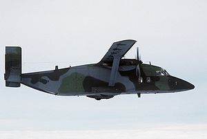 Warbird Picture - A C-23A Sherpa over then West Germany in 1985