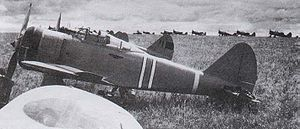 Airplane Picture - A Ki-27 as used in the Battle of Khalkhin Gol.