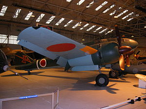 Airplane Picture - Mitsubishi Ki-46-III (Army Type 100 Command Reconnaissance Plane) at RAF Cosford.
