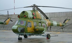 Warbird Picture - Polish Air Force Mi-2 at Krzesiny AFB