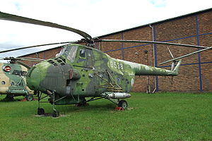 Warbird Picture - Mil Mi-4 at Prague Aviation Museum