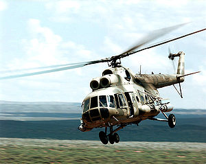 Warbird Picture - Mil Mi-8 of the USAF 6th Special Operations Squadron during a military exercise