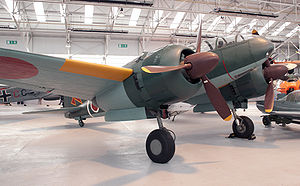 Airplane Picture - Another picture from the Mitsubishi Ki-46 at RAF Cosford.