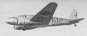 Warbird Picture - MC-20-I, with a nickname Asagumo (morning cloud), used by Asahi Shimbun.