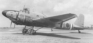 Airplane Picture - MC-20-II with a nickname Hakutsuru(white crane) of the China Airlines during the Sino-Japanese war.