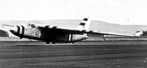 Warbird Picture - Short SB.1 during landing c.1951