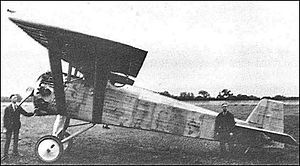 Airplane Picture - Vickers Type 121 Wibault