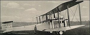 Airplane Picture - Vickers Vimy
