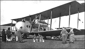 Airplane Picture - Vickers Vernon