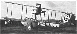 Warbird Picture - The Vickers Viking prototype in 1919
