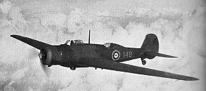 Warbird Picture - Type 292 of the Long-Range Development unit. Unlike production Wellesleys, the engine cowling is blended with the fuselage profile.