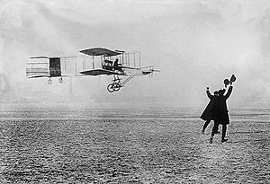 Warbird Picture - Voisin-Farman I in the air