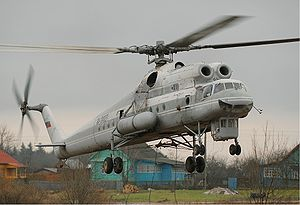 Warbird Picture - Mil Mi-10K of Vzlet in 2006.
