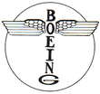 Airplane Picture - Boeing's original logo