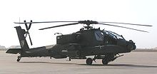 Airplane Picture - AH-64 Apache attack helicopter