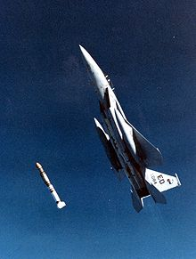 Airplane Picture - Launch of Vought's ASAT in 1983.