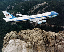 Airplane Picture - VC-25A (Air Force One).