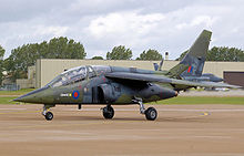 Airplane Picture - Dassault-Breguet/Dornier Alpha Jet of the UK defence technology organisation QinetiQ