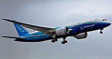 Airplane Picture - The Boeing 787 on its first flight.