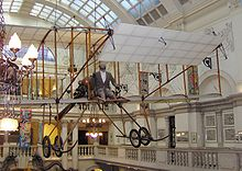 Airplane Picture - 1963 Replica of a Bristol Boxkite, now hanging in the Bristol City Museum and Art Gallery.