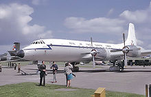 Airplane Picture - 1964 Royal Air Force Bristol Britannia Spica