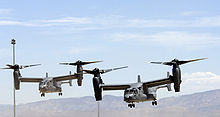Airplane Picture - CV-22 Osprey tiltrotor aircraft.